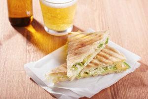 Бутерброды с авокадо - рецепт приготовления