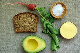 Бутерброды с авокадо - рецепт