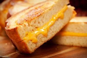 Бутерброды с сыром - рецепт приготовления