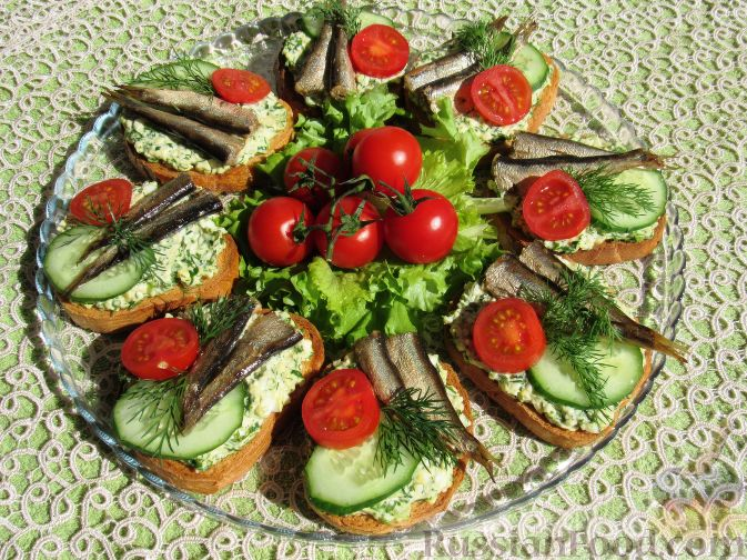 бутерброды простые