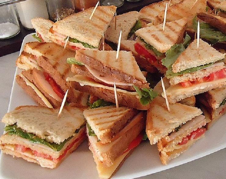 Очень вкусный бутерброд его фото и рецепт