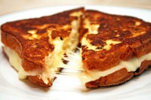 вкусные бутерброды с сыром