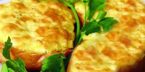 гренки с сыром рецепт