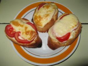 как сделать горячие бутерброды в духовке