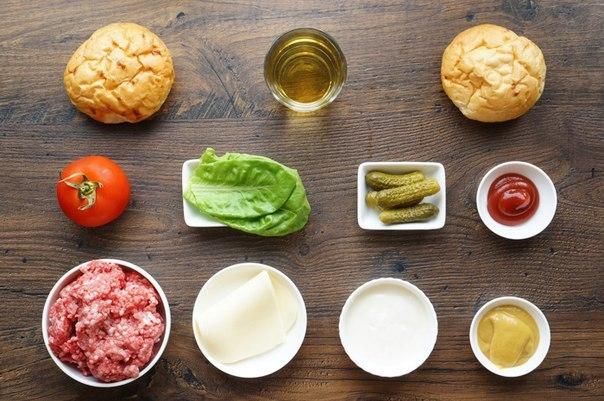 гамбургер рецепт приготовления