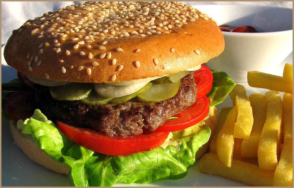 как готовить гамбургер