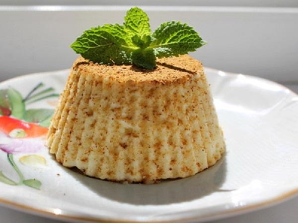 как готовить творожное суфле