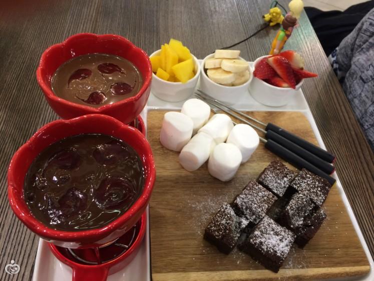как готовить шоколадное фондю