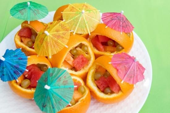 как приготовить канапе из фруктов