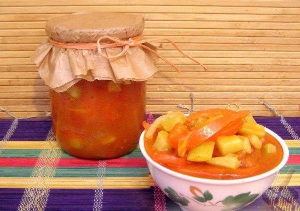 как приготовить лечо с томатной пастой