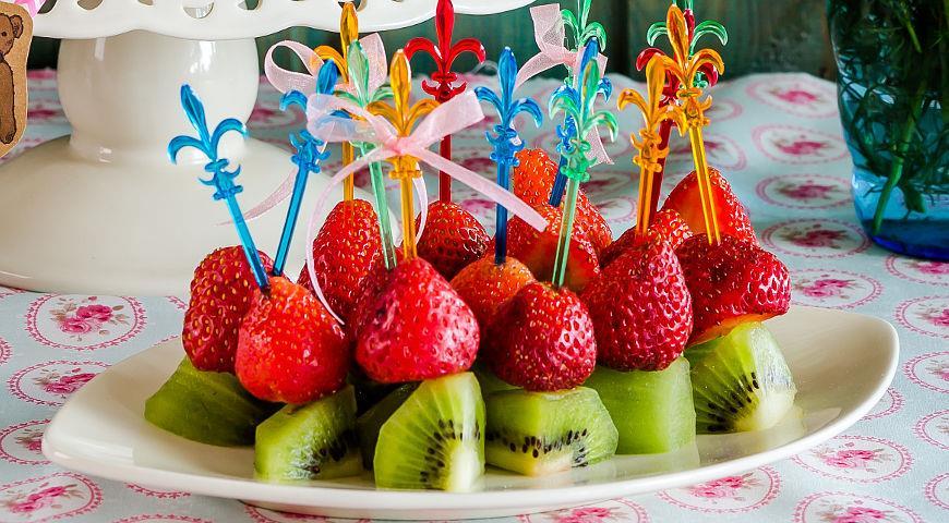 канапе из фруктов рецепт приготовления