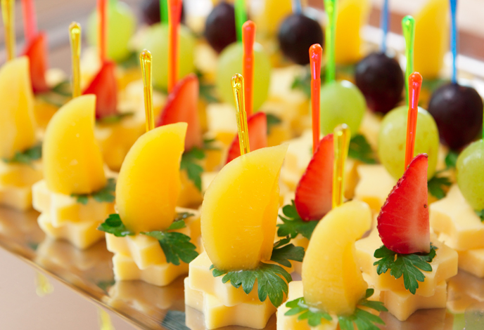 канапе из фруктов рецепт