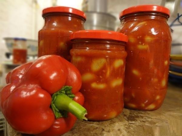 лечо помидоры перец