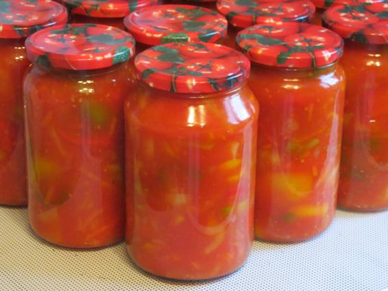 лечо с томатной пастой рецепт