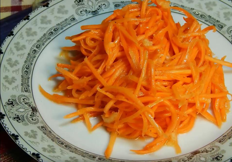 морковь по корейски дома