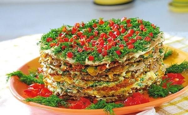 печеночный торт рецепт пошаговый с фото