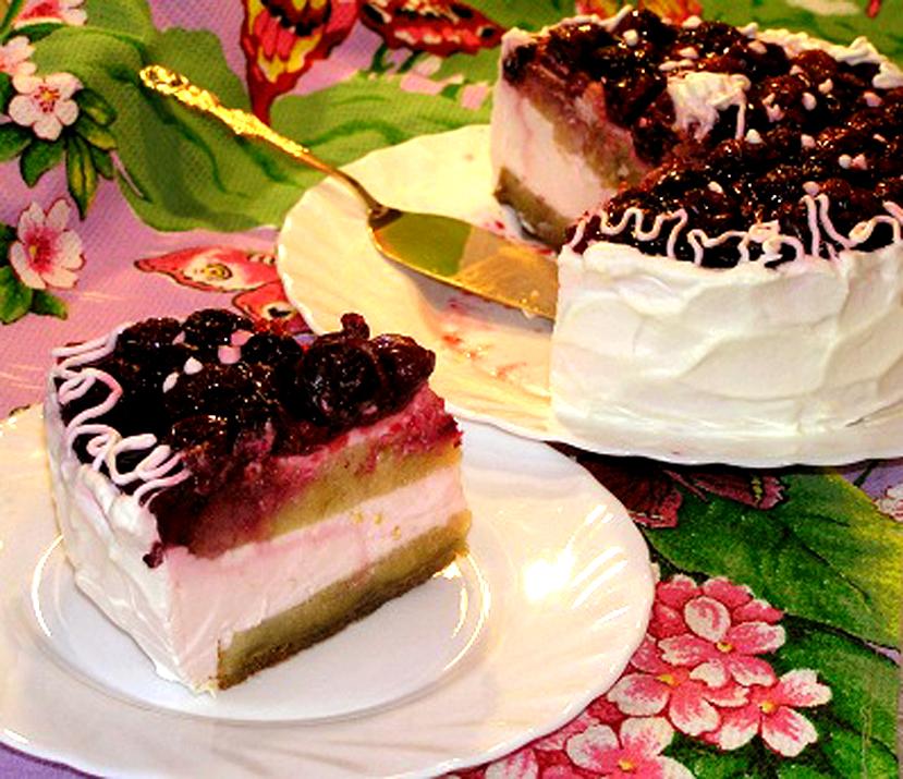 рецепт суфле для торта