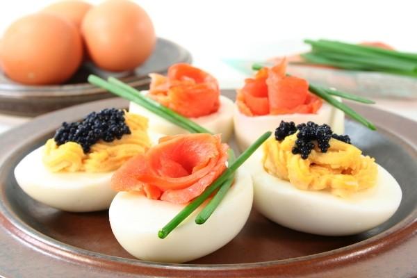 фаршированные яйца рецепт приготовления