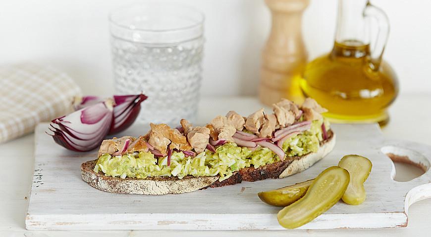 бутерброды с печенью трески рецепт приготовления
