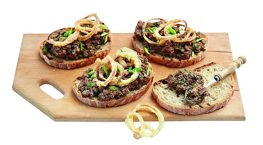 как сделать бутерброды с печенью трески