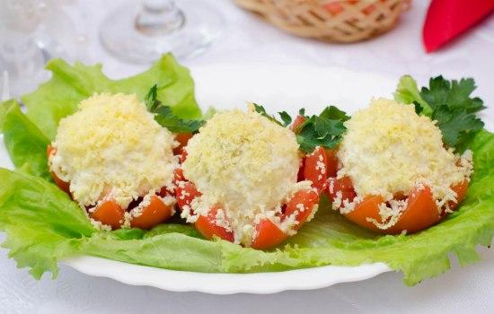 закуска помидоры с сыром