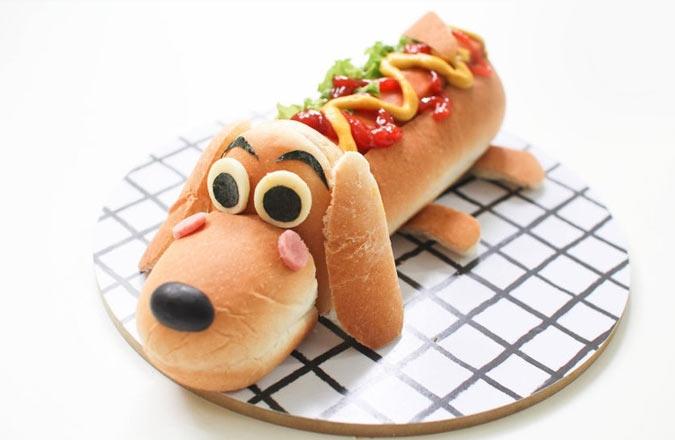 закуска собака