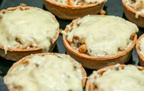 Тарталетки с сыром