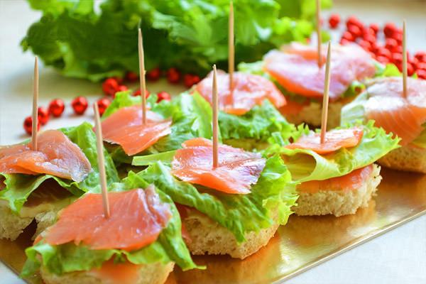бутерброды канапе
