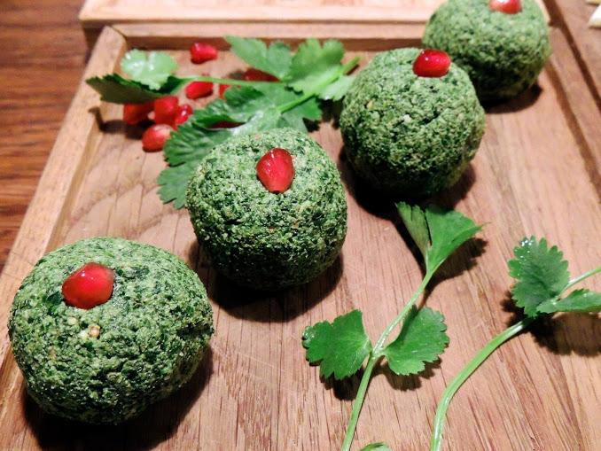 закуска из зелени