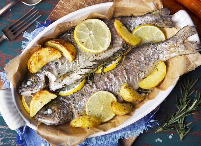 закуски из морепродуктов