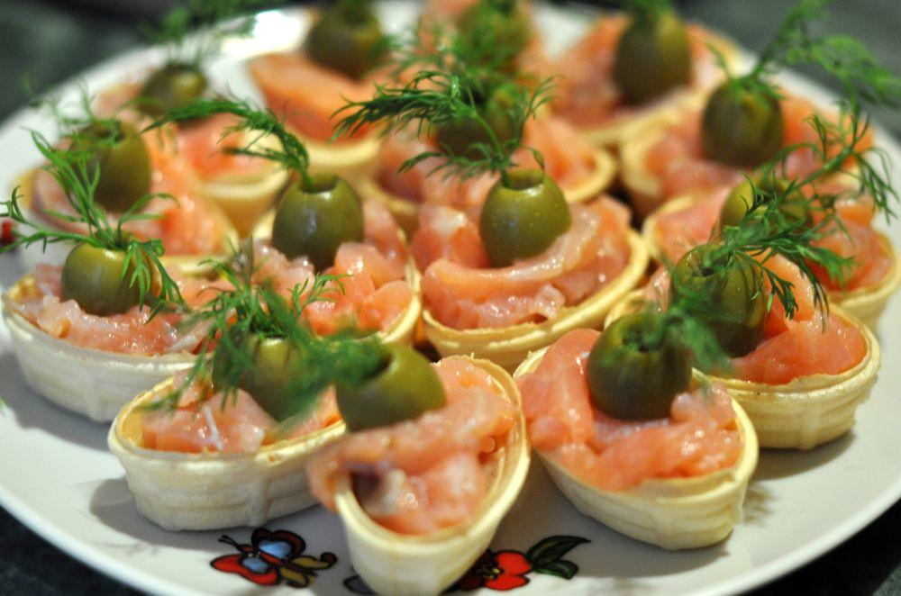 закуски с оливками