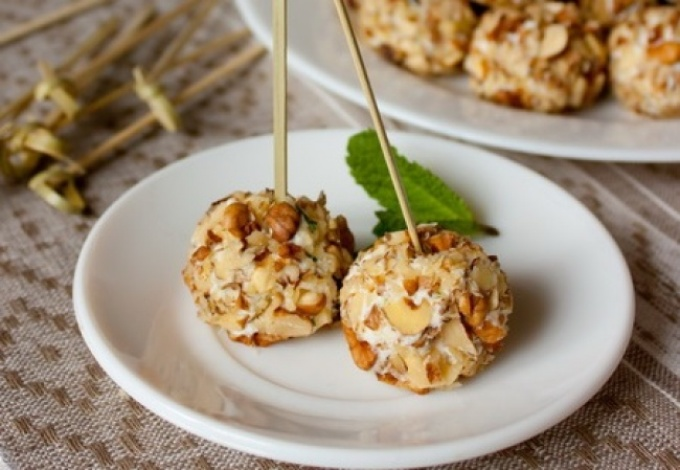 закуски с орехами