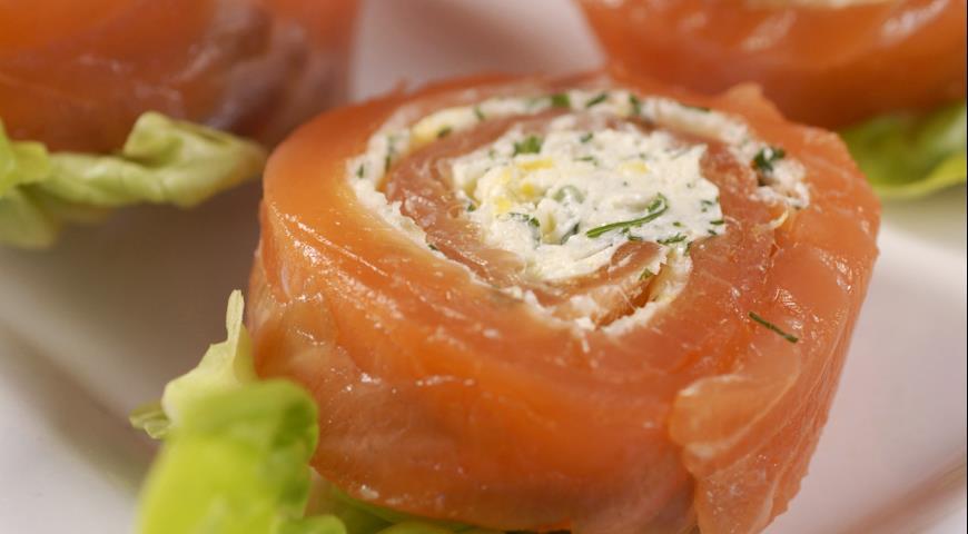 закуски с творожным сыром