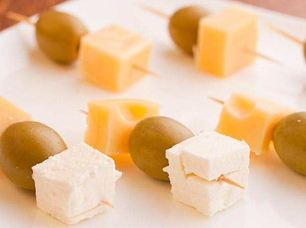 канапе с сыром