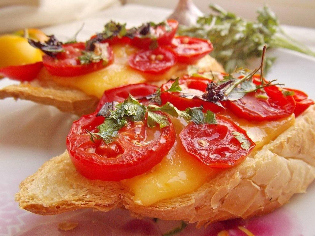 Бутерброды из багета