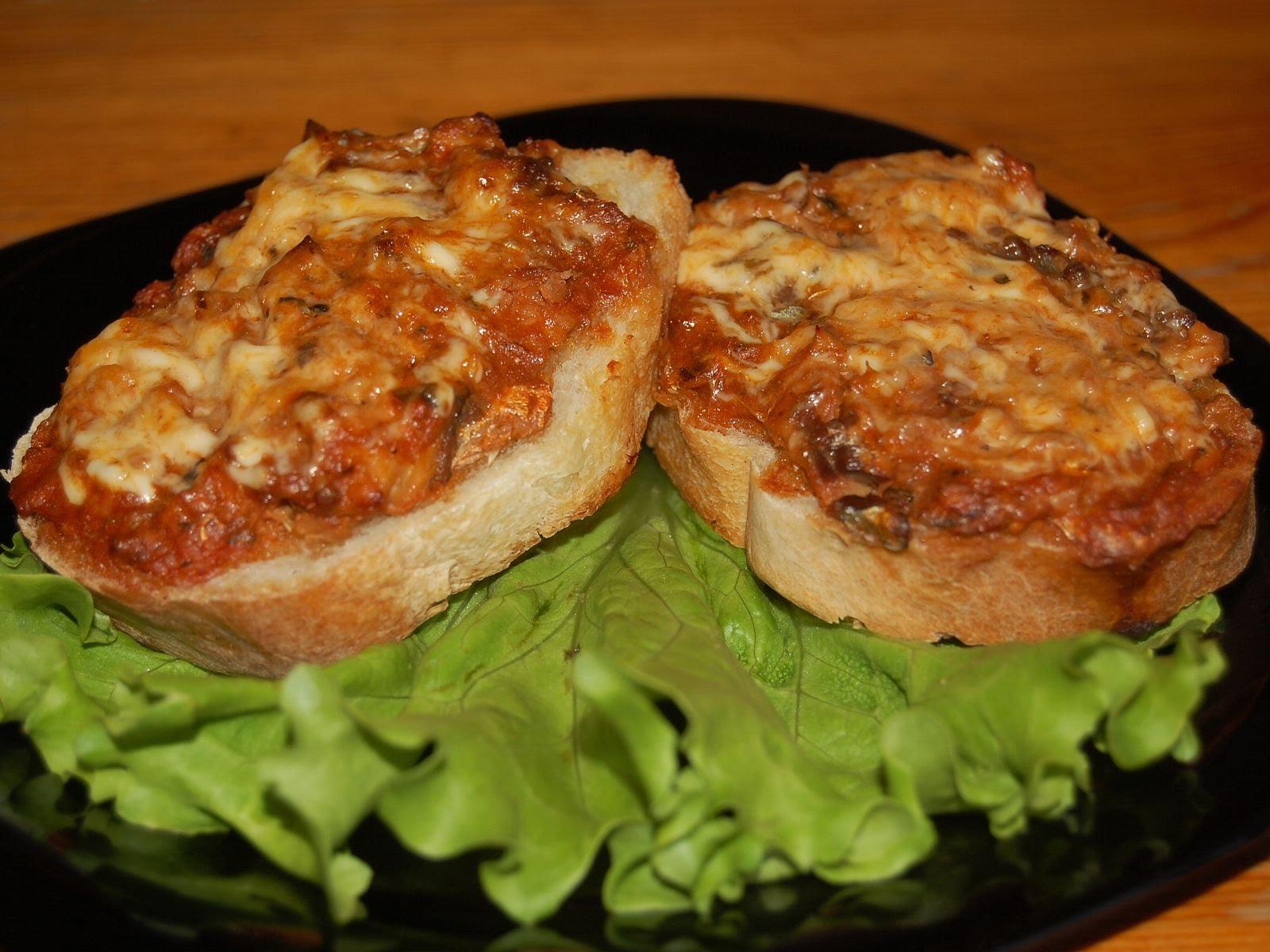 бутерброды с минтаем