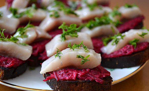 бутерброды с рыбой