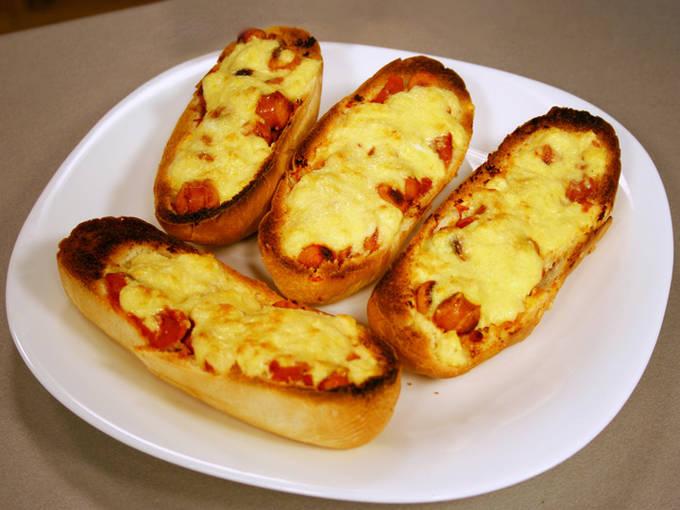 бутерброды с сосисками