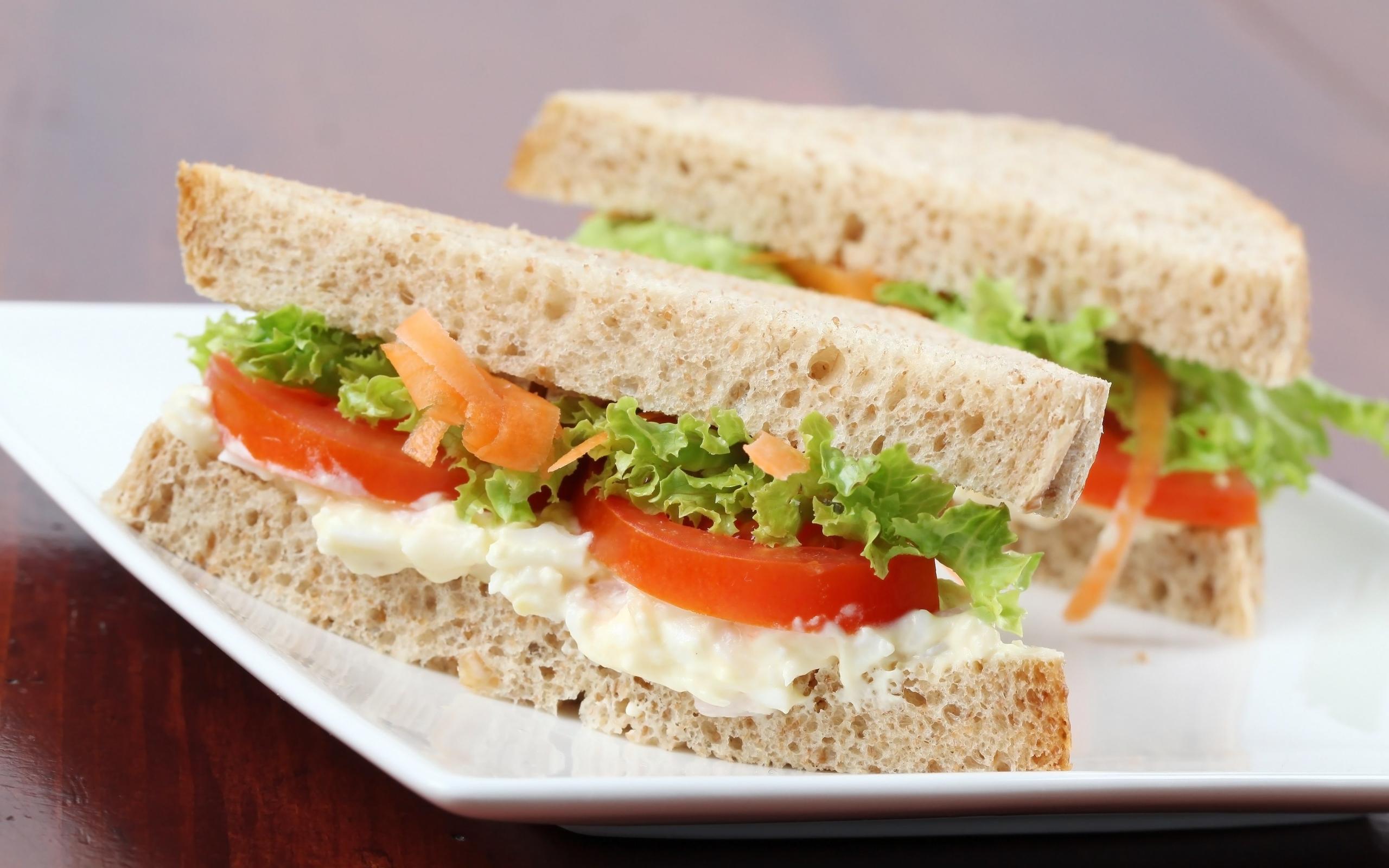 бутерброд с майонезом