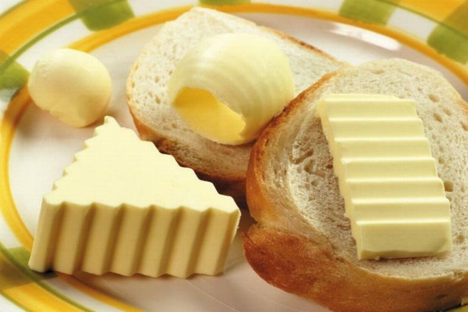 бутерброд с маслом