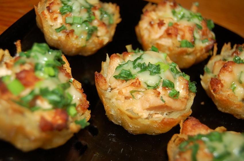 картофельные тарталетки
