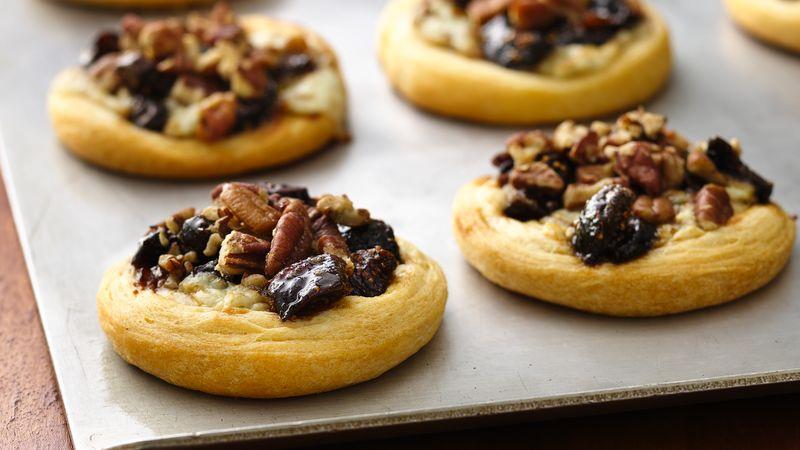 тарталетки с орехами